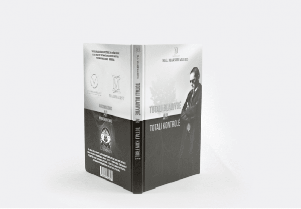 Knyga Totali blaivybė ar Totali kontrolė