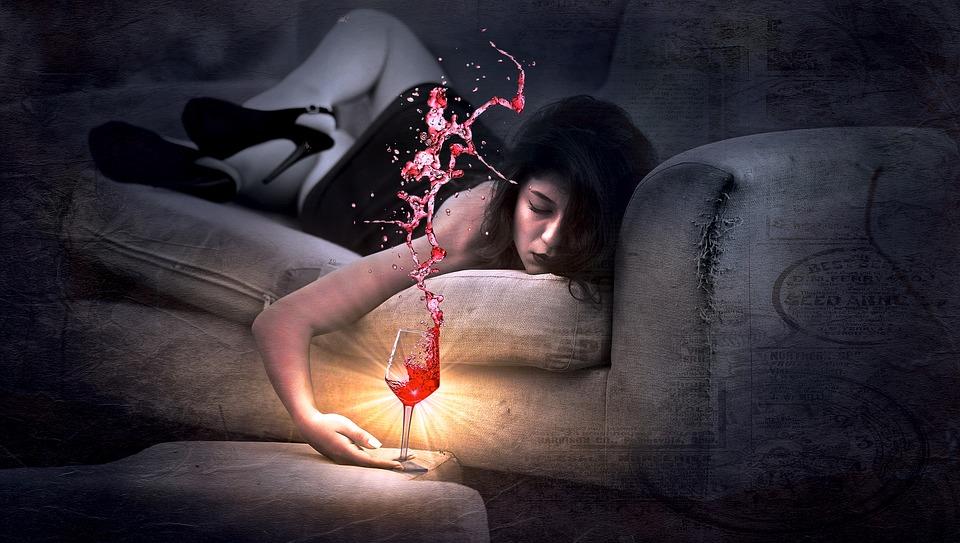 uzkodavimas nuo alkoholio